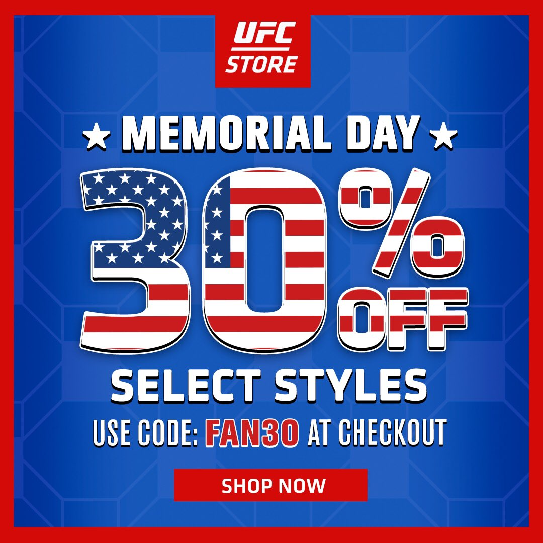 Skip the furniture shopping this year because our pals @ufcstore have got a great deal going on! #MemorialDay https://t.co/iDLgvsB5Wk https://t.co/yixdRiMb0G