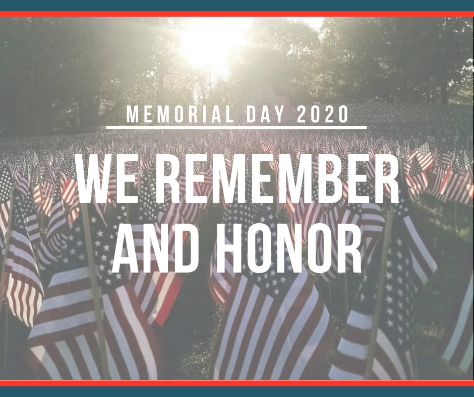 On this Memorial Day, let's remember those who served our nation and gave the ultimate sacrifice to protect our democracy and make a pledge to do everything we can to take care of our veterans in this country.  <br>http://pic.twitter.com/ZimZ42ny4F