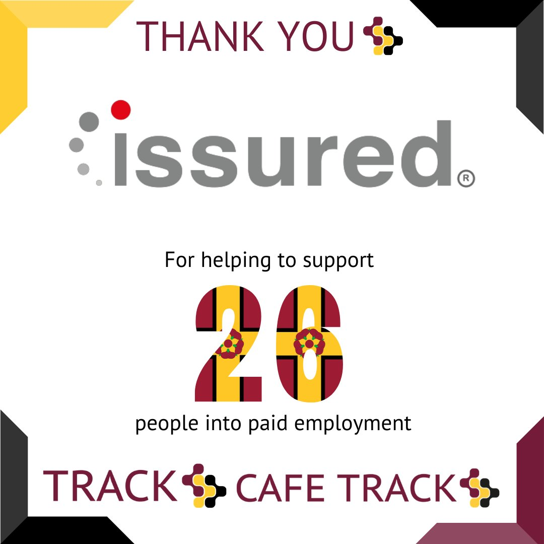 Thanks to our Friends of Track we have been able to support 26 people into paid employment. Times are hard but we are still supporting people. @issuredlimited #autism #employment Find out more here. Thank You track.org.uk/friends-of-tra…