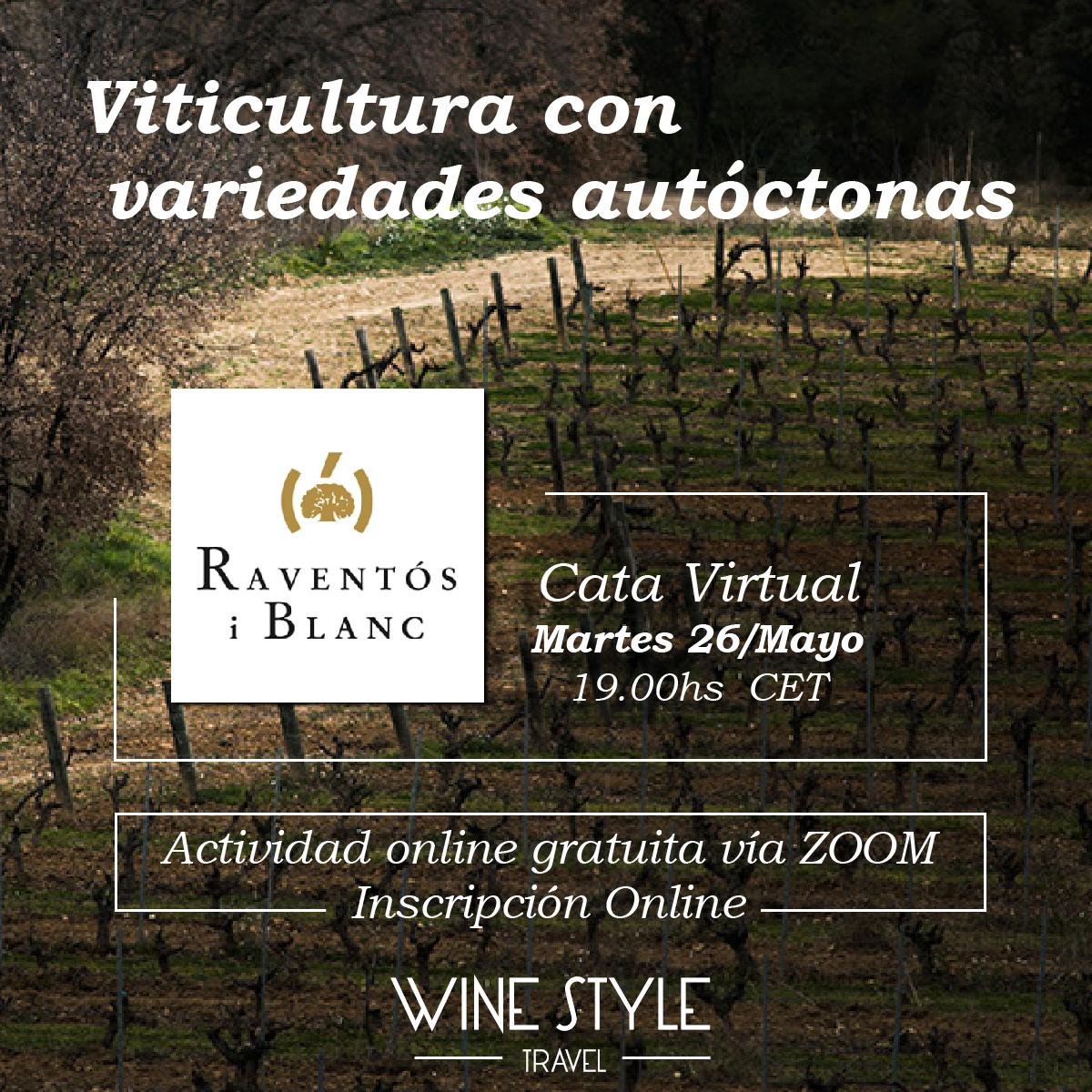 En la #CataVirtual de este martes aprenderemos la importancia de trabajar con variedades autóctonas de la mano de @RaventosiBlanc, viticultores desde 1497 en la #ConcadelRiuAnoia Inscripción: https://www.winestyletravel.com/producto/26-de-mayo-viticultura-con-variedades-autoctonas-con-raventos-i-blanc/…pic.twitter.com/wPO6r1OGWS