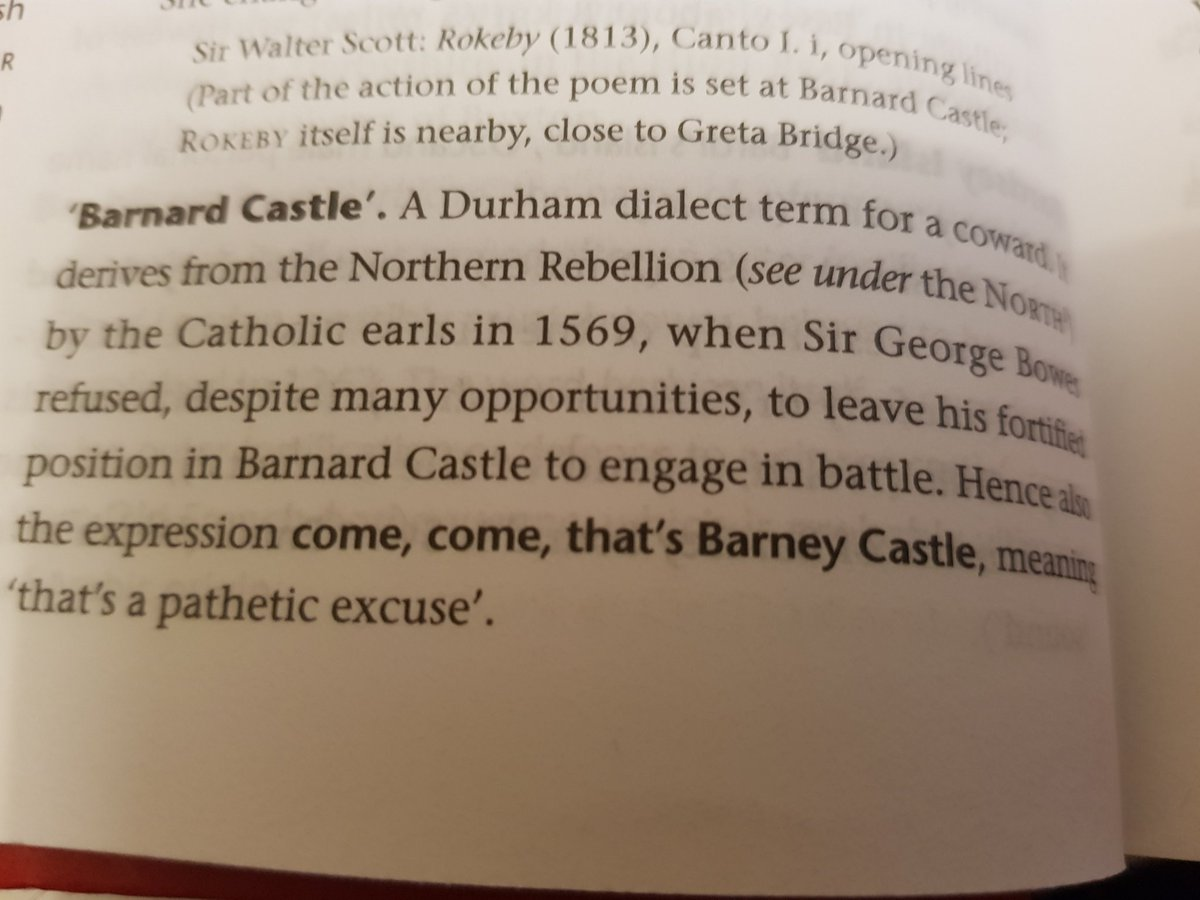 """This seems too perfect. From Brewer's Britain and Ireland, 2005.  """"That's Barney Castle"""" meaning """"That's a pathetic excuse"""" https://t.co/Ib90ld26k5"""