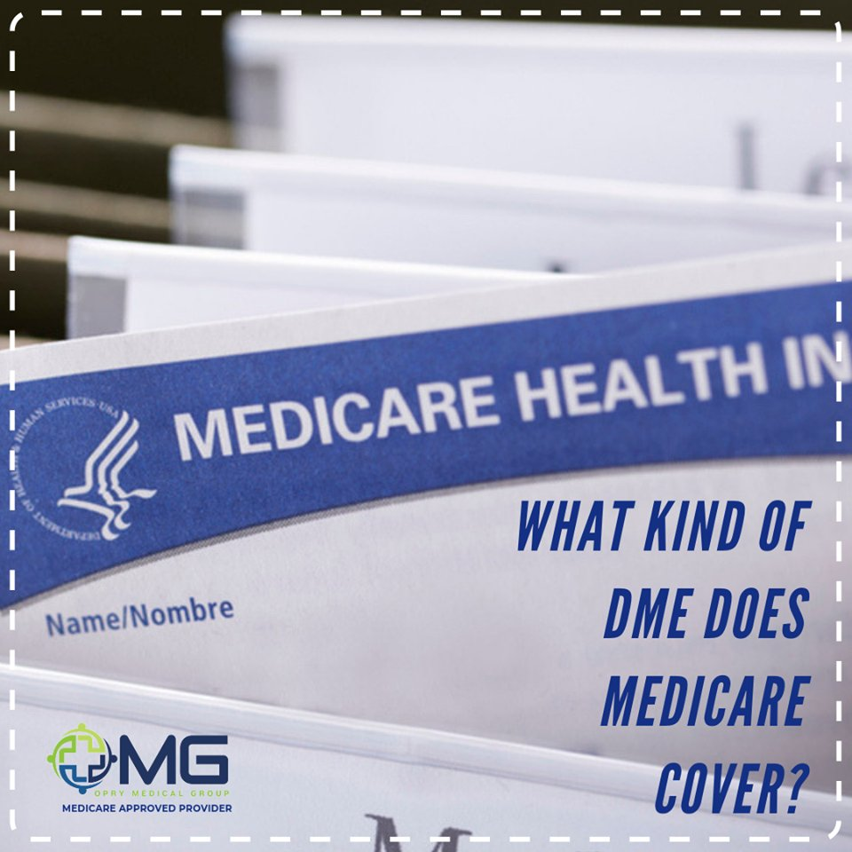 What kind of DME does Medicare cover?  Whether you have Original Medicare or a Medicare Advantage Plan, the types of covered equipment should be the same. However..  Click here for more: https://bit.ly/36tNIHX  #insurance #insurancecoverage #medicalsupplies #Nashville #Tennesseepic.twitter.com/90kuSLXv7w