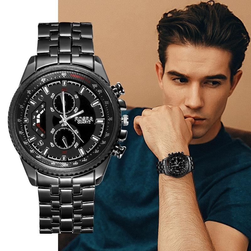 Check out this product  Quartz full stainless steel casual luxury watch for men   by Moena Jewelry Store starting at $48.98.  Show now https://shortlink.store/anJVOp6TzT pic.twitter.com/QRi5Wmrt8b