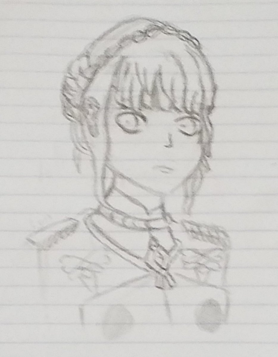 Marianne Sketch from Fire Emblem: Three Houses.  #FE3H #FireEmblemThreeHouses #sketch<br>http://pic.twitter.com/Mx9EJORNED