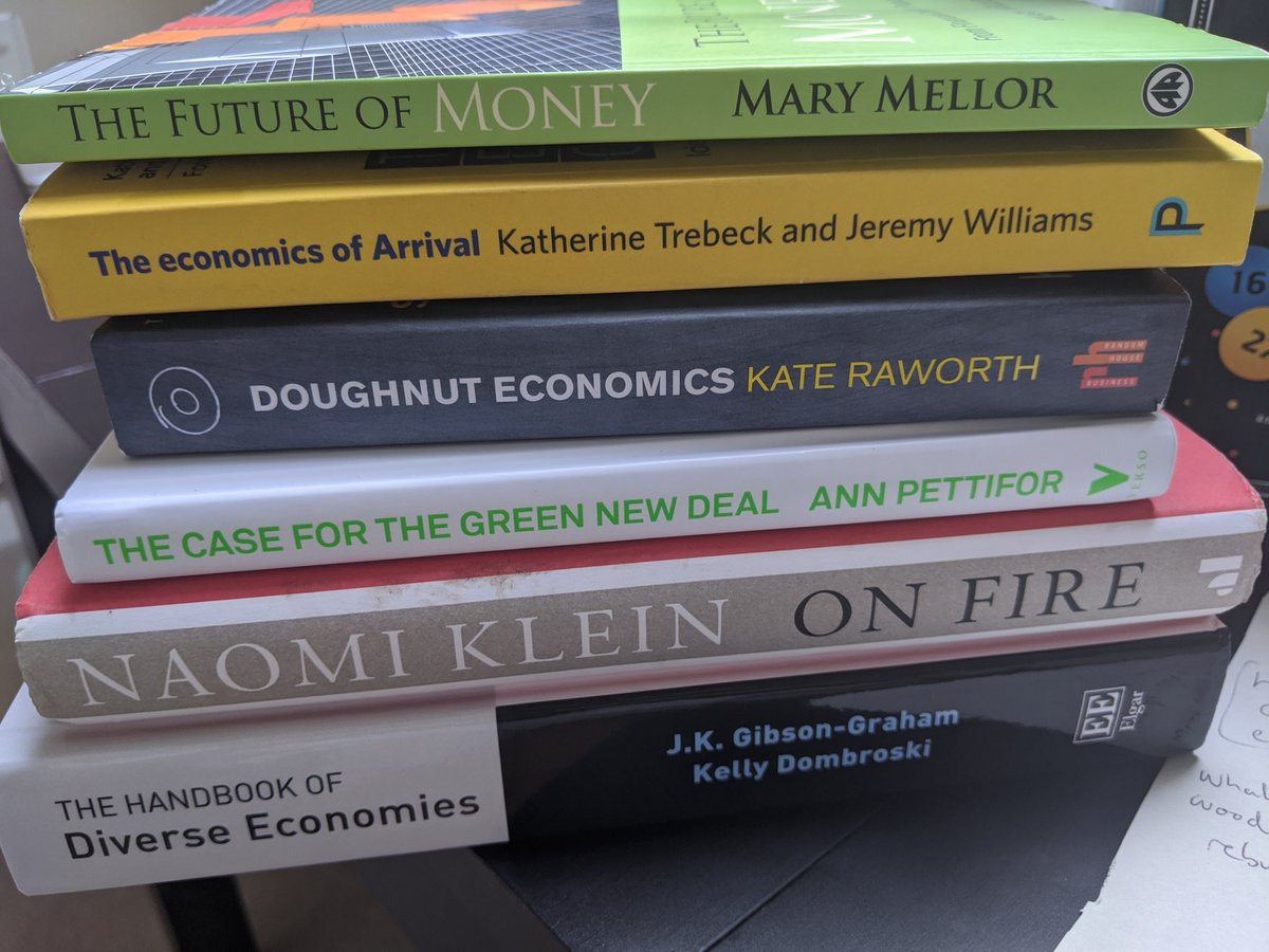Hey Siri, show me the opposite of Dominic Cummings?   Instead of feeling the rage, I'm diving into the collective fierce intelligence of some women who will help us #BuildBackBetter @AnnPettifor @KateRaworth @KTrebeck @NaomiAKlein https://t.co/WmGsCi6rqr