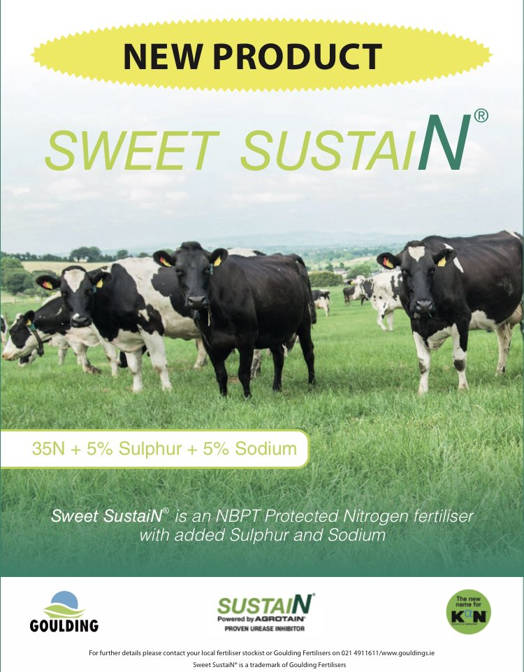 To celebrate the launch of our new protected urea product Sweet SustaiN, we are running a draw for 2 tonnes. Like and retweet to be in with a chance of winning. #sweetergrass