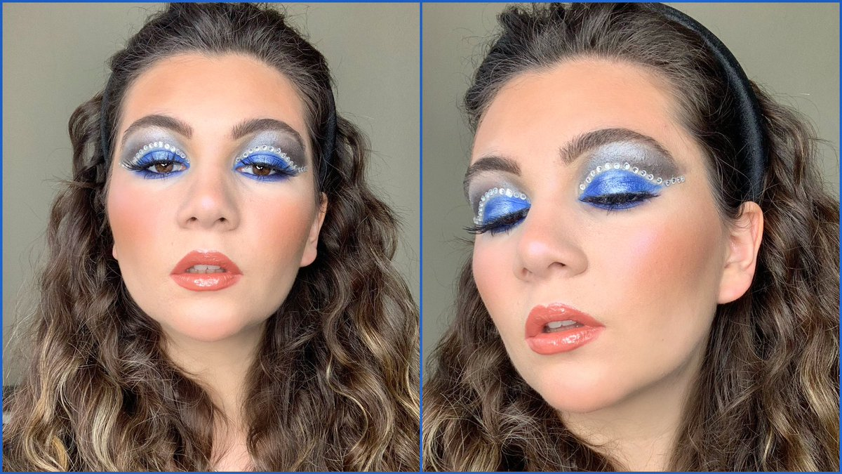 "Video tutorial of ""Rhinestone Cut Crease Makeup for Hooded eyes"" is up on my channel https://youtu.be/T8Db4A3b7oA   #makeup #hoodedeyes #tutorial #videotutorial #MakeupTutorial #rhinestone #rhinestonemakeup #youtube #youtuberpic.twitter.com/EJlYK5lCb9"