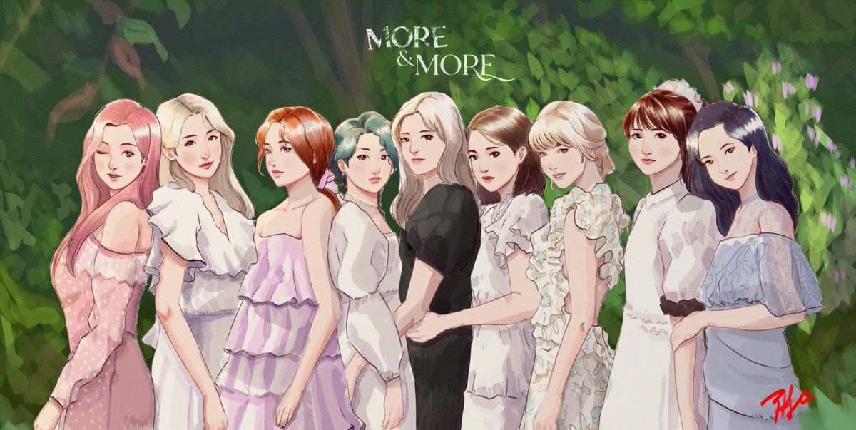 Cant wait no more #TWICE #MOREandMORE