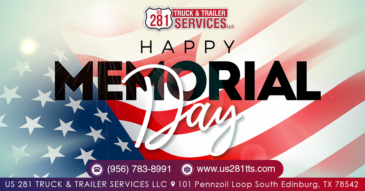 We remember those who served before, We remember those who are no more. We remember those who serve today, And remember them all on Memorial Day !  #memorialday #memorialday2020 #us281family #truckrepair #truckinglife #southtexas #america #americantruckerpic.twitter.com/IGiOWjSa2c