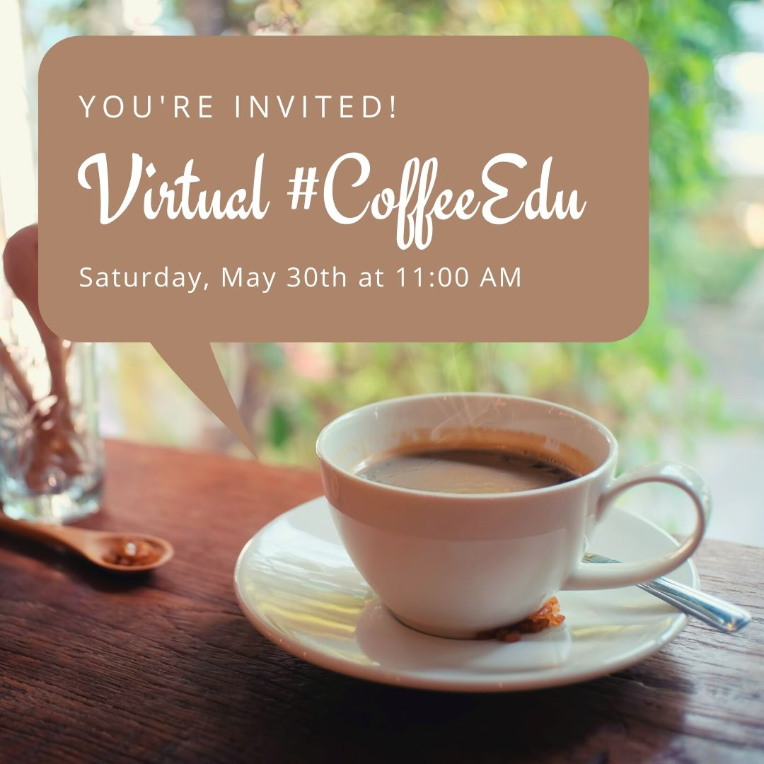 Hey, Twitter educators! First, gratitude for those that paid the ultimate sacrifice. 🇺🇸 Next, Id like to invite you 2 a final #CoffeeEdu as we end the year. 5-3-20 at 11:00 am PST. All are welcome! #IVEducators @IsabelAdame17 Zoom invite link here -> docs.google.com/forms/d/e/1FAI…