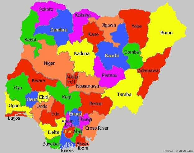 Kaduna State must have borders with Zamfara, Kano, Bauchi, Plateau, Nassarawa, FCT & Niger.  Which of these borders does he lock down in the evening and open in the morning? https://twitter.com/brosef_Odeh/status/1264962280443256834…pic.twitter.com/YQPUwY4SAF