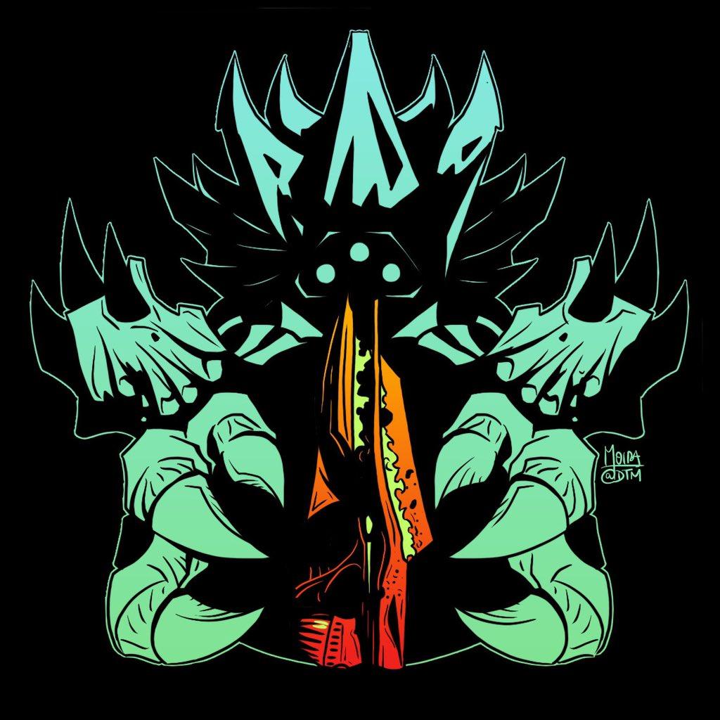 Crota & Necrochasm! Art/ tattoo design for insta bois. <br>http://pic.twitter.com/RFdLC7sl6z