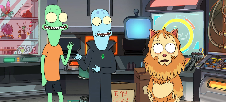 'Solar Opposites' Interview: Mike McMahan on 'Rick and Morty' Comparisons, Pop Culture References, The Wall & More  http:// dlvr.it/RXKfbR     <br>http://pic.twitter.com/N0XkZP01J7