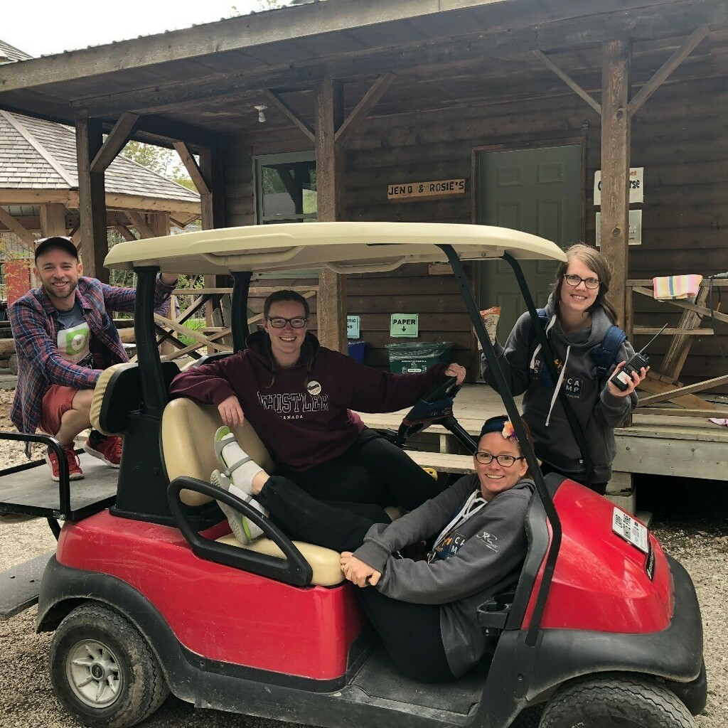 My @yrdsbartscamp memories are with my golf cart crew! #YRDSBArtsCamp #SparkCreativityYRDSB #ThisIsOurHappyPlace instagr.am/p/CAnk5yShQyj/