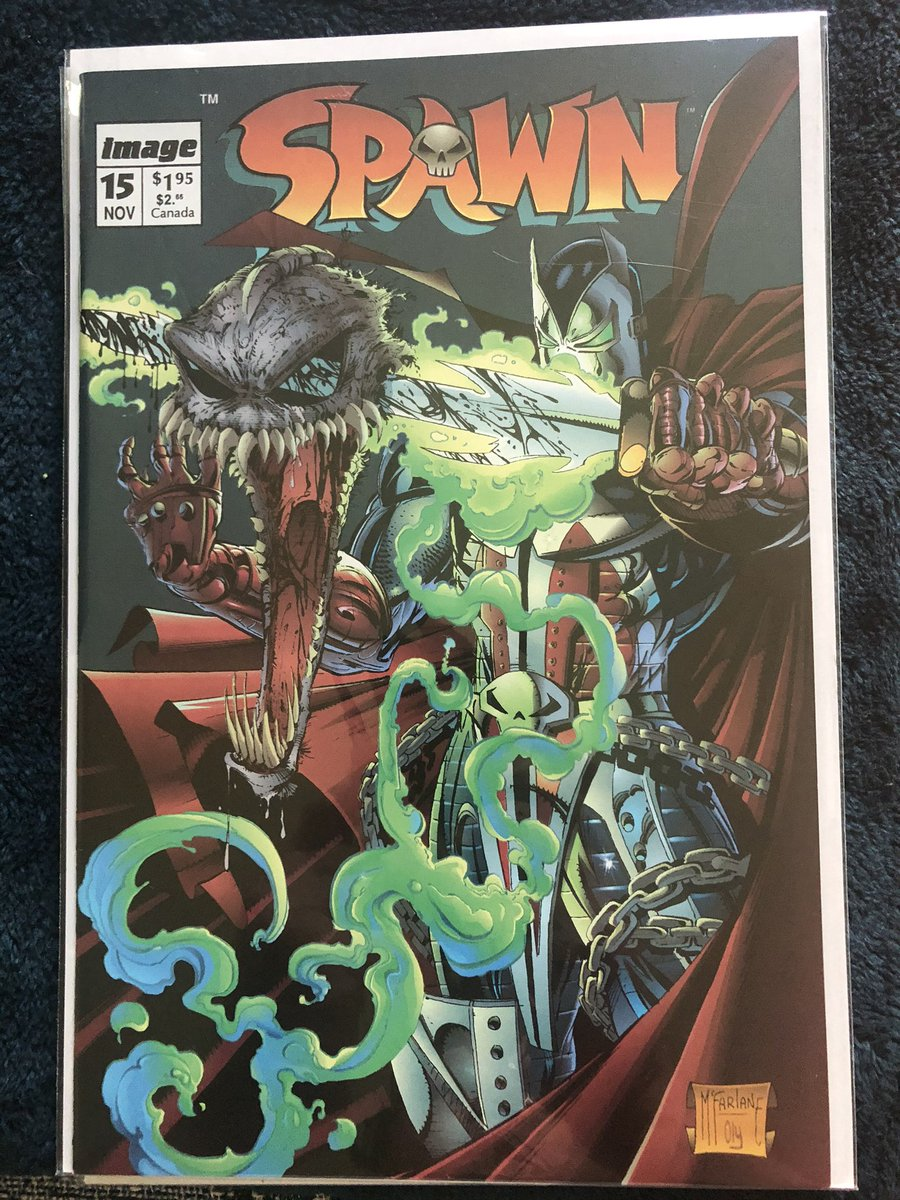 #Comics  Added a few more $1 pickups to fill in my Spawn run.  First 50 issues done! pic.twitter.com/moPWnSsXAx