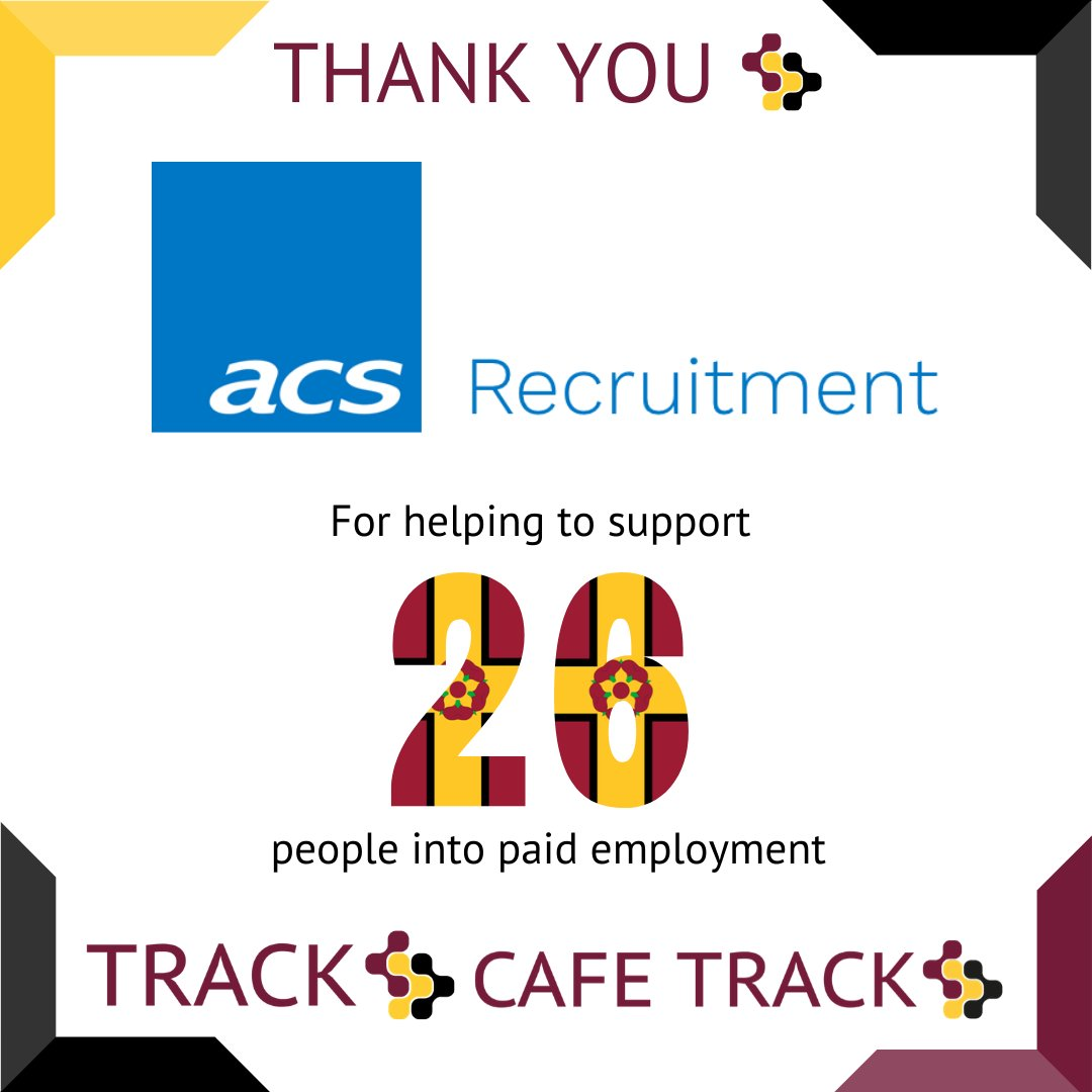 Thanks to our Friends of Track we have been able to support 26 people into paid employment. Times are hard but we are still supporting people @acs_recruitment #autism #employment Find out more here. Thank You track.org.uk/friends-of-tra…