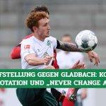 Image for the Tweet beginning: So könnte die #Werder-Aufstellung gegen