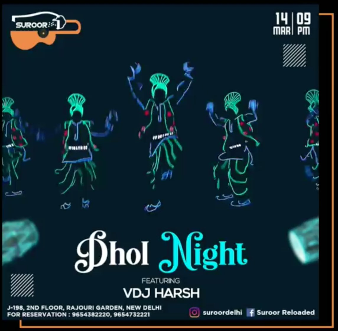 Tonight catch me live at suroor #vdjharsh #newdelhi #nightlife #hiphop #edm #bollywood #house #techno #trance #suroorleloaded  Support Artist :- http://fb.com/djharshofficial.in…pic.twitter.com/0LNqTRFzPe