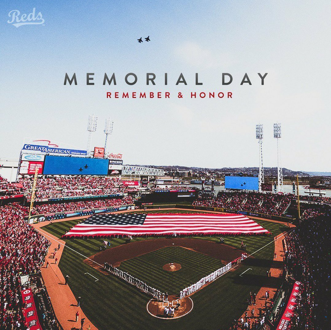 Honor Our Soldiers... Happy Memorial Day 🇺🇸 2020  #HappyMemorialDay #MemorialDay2020 #MemorialDayWeekend #MemorialDay #USA #USABaseball #MLBAtHome