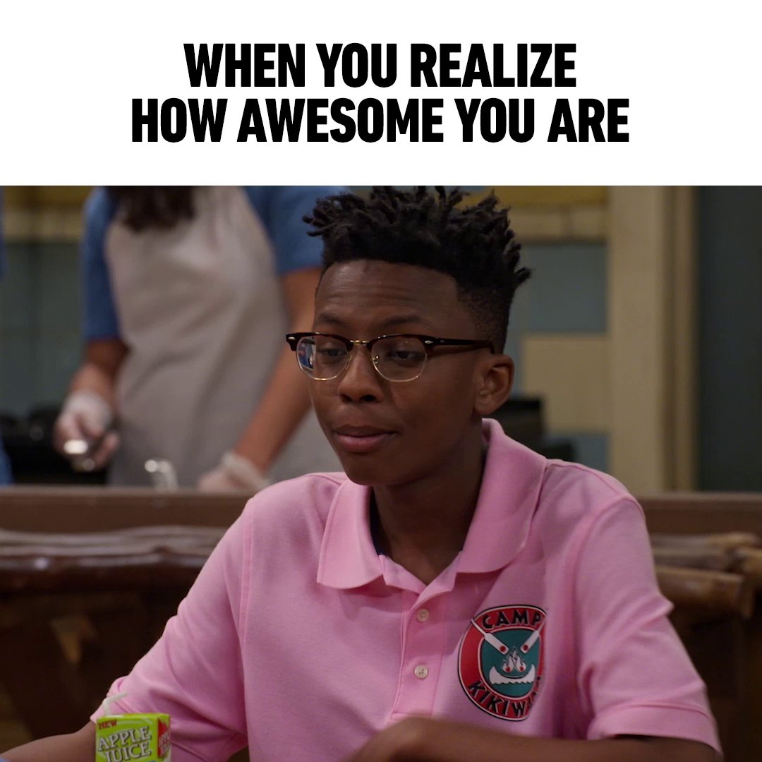 Noah from #BUNKD is giving us some serious #MondayMotivation 😤 Who else needs to channel this level of confidence? 🙋