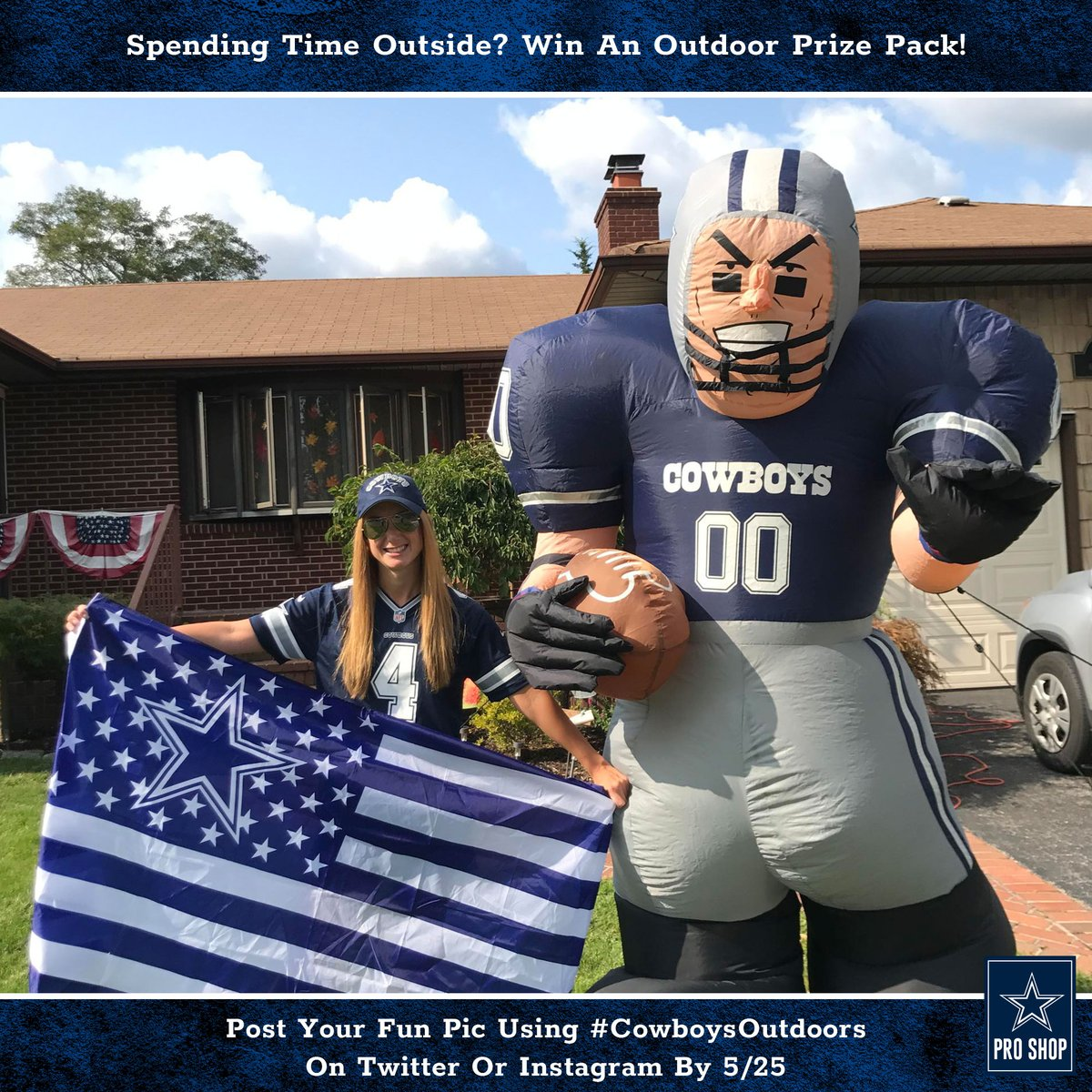 🚨 LAST CHANCE at our latest #DallasCowboys prize pack! 🚨  1. Follow us 2. Post a pic of your time spent outside in your #CowboysNation gear using #CowboysOutdoors 3. You could win a Pro Shop package of awesome outdoor gear!  Enter by midnight. Rules: https://t.co/7JX0xUFgq5 https://t.co/OACacOpKzD