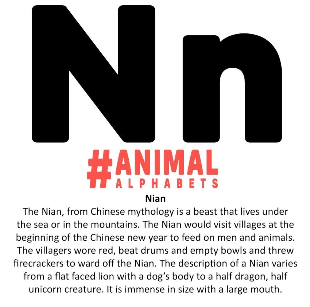 146/366 is N for Nian for #AnimalAlphabets #kleineKunstklasse  #drawing #pencil #Pencildrawing #pencilart #sketch #inkdrawing #ink #inkpen #inkTwinpens #onesketchaday pic.twitter.com/AlbLv6OVXV