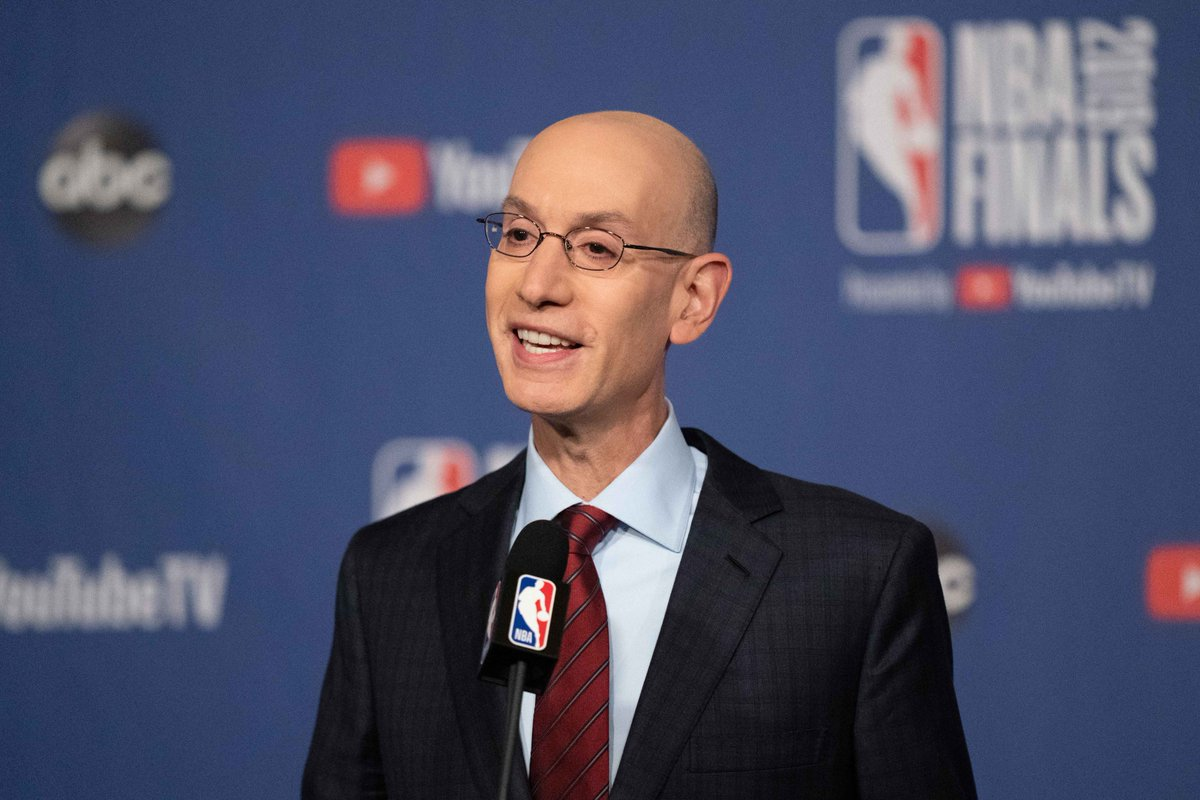 Adam Silver Will Upset People With Upcoming Decisions #NBA #NBATwitter #NBATwitterLive #AdamSilver #Coronavirus #COVID19  Read More- https://t.co/JM5jzgWUzD https://t.co/L6HIFm7d0l