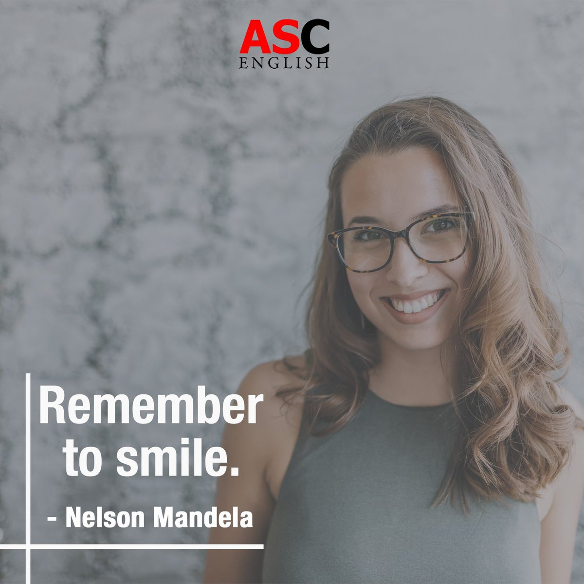 Happy Monday !  Don't forget to smile today, stay positive and practice your English language skills.  #positivequotes #smile #positivity #learnenglish #englishlanguage #learning #bostonpic.twitter.com/mW9cWk0kFC