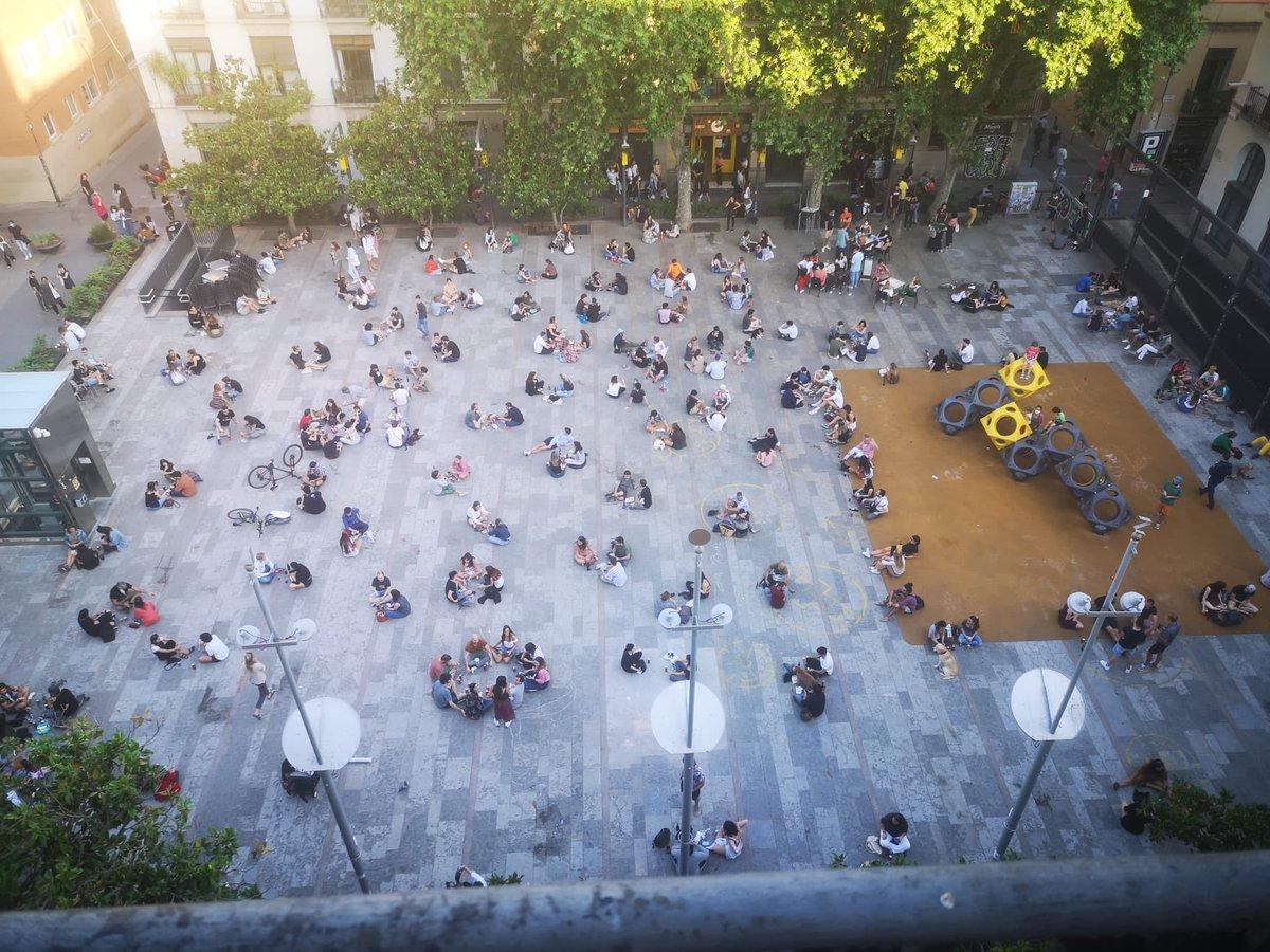La plaça del Sol. #Gràcia