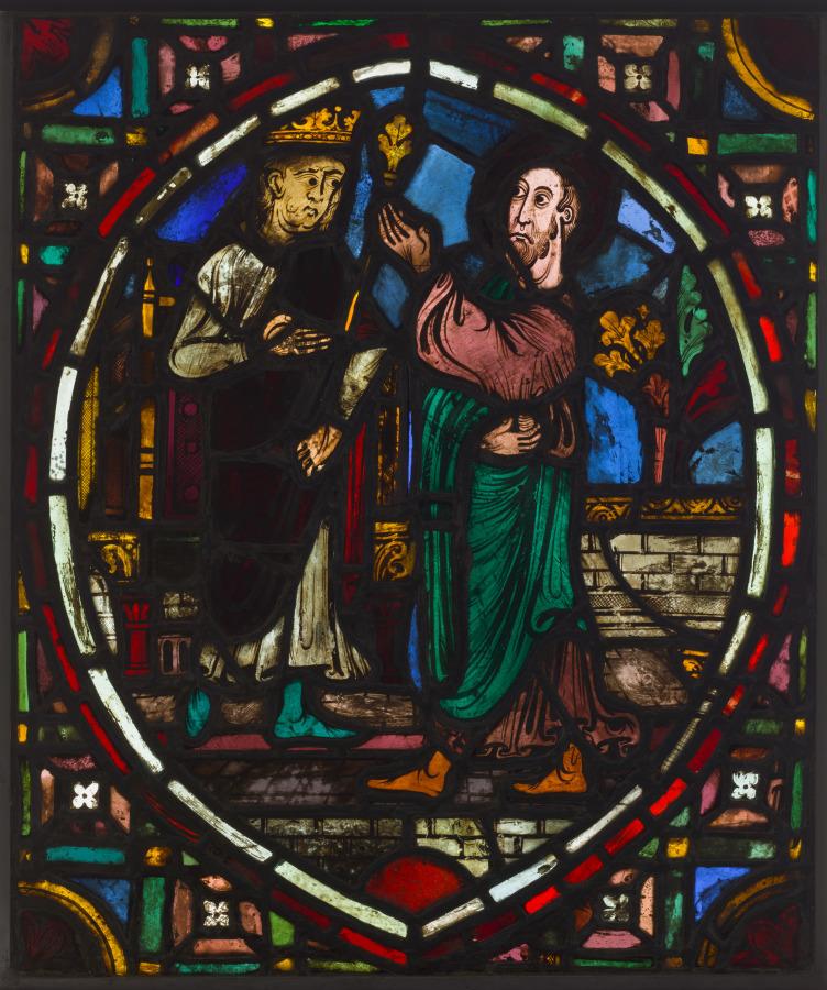Panel, mid 1200s  #clevelandartmuseum #MedievalArt