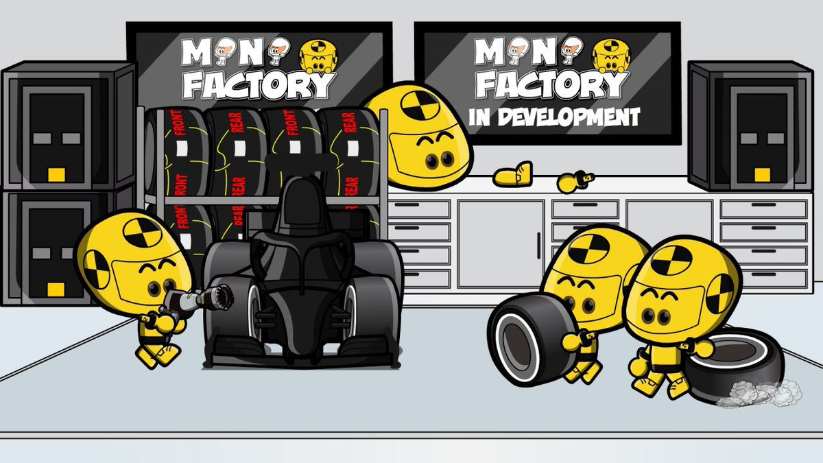 EXCLUSIVE! You have seen the world of MiniDrivers. You have seen the races... you have seen the preseason... but what about the factories? Meet the MiniDummies on a new adventure full of crazy moments, madness and anarchy with the Mini Factory. Now in development.