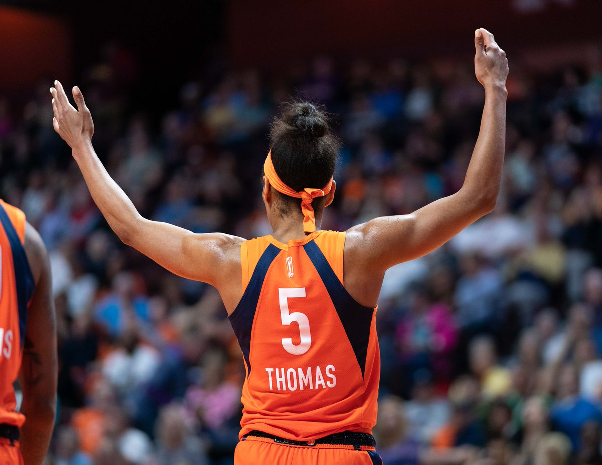 Starting this week, we'll be doing a @chrisphoto15 photo of the day.  Our first photo is of @jaszthomas from a game on this date last year between the @WashMystics and @ConnecticutSun. https://t.co/u0A1XYIp42