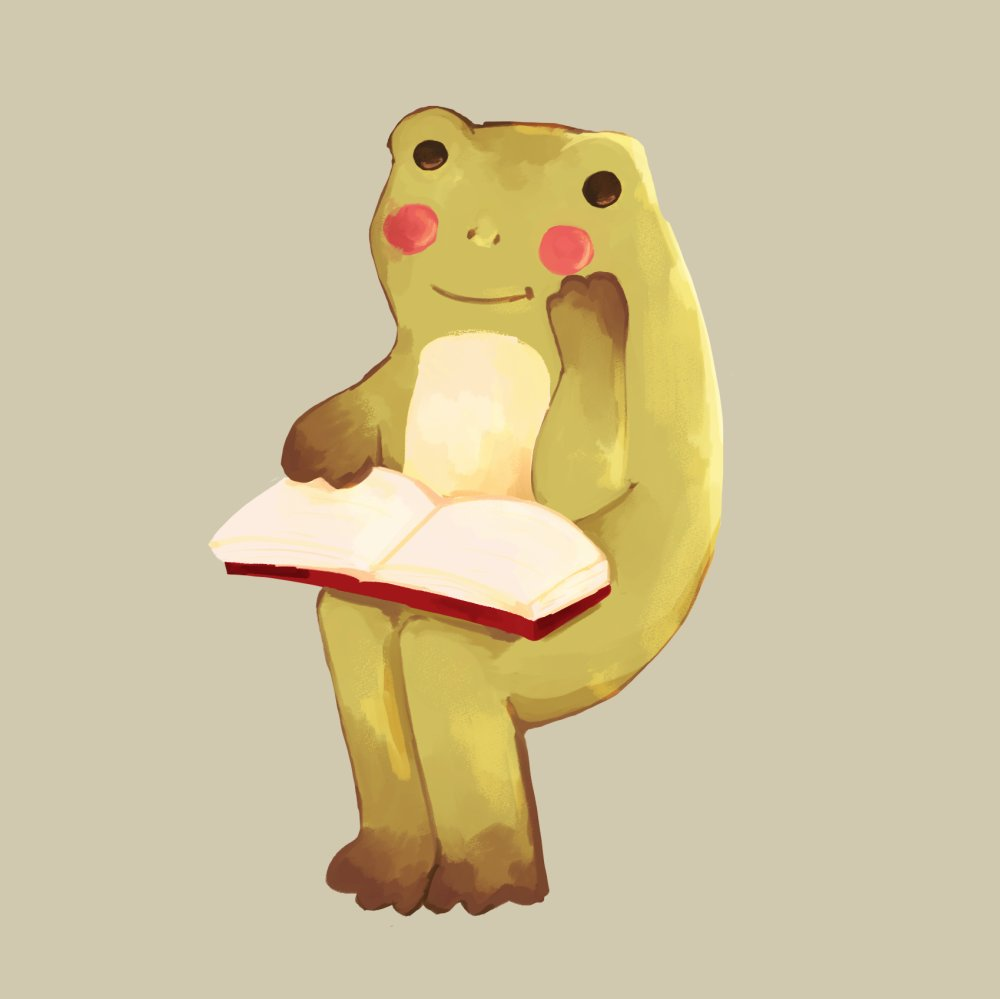 redraw of this model of a frog reading #illustration #frogs pic.twitter.com/wpDBcXsmnP