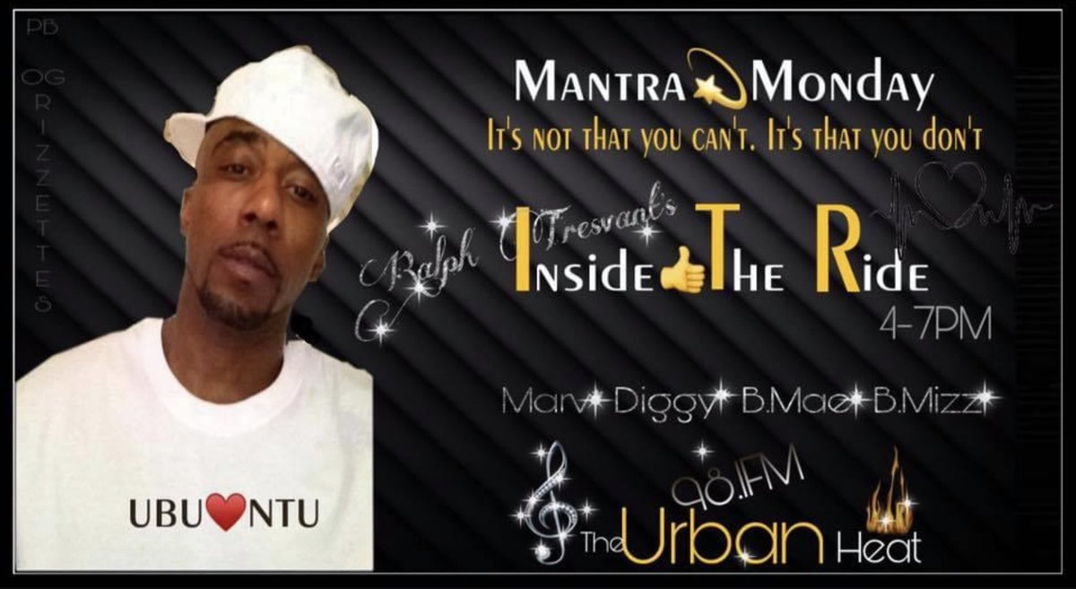 HappyMemorialDay! Tunein to 98.1FmTheUrbanHeat!  @RalphTresvant 's #InsideTheRide takes off today Sharp YoutubeLiveStreaming! w/ @MarvNeal @The1TrueJDiggy B.Mae & @Bigmiz0380Payne >> StopBy&Njoy<br>http://pic.twitter.com/fP3daT8jCm