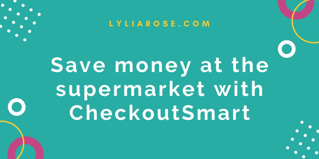 Save money at the supermarket with CheckoutSmart cashback app!  https://www.lyliarose.com/blog/read_192839/save-money-at-the-supermarket-with-checkoutsmart-cashback-app.html …  #cashback #savemoney #familyfinances #moneysavingtips ukbloggers #blogpic.twitter.com/rbBMhLkV3w