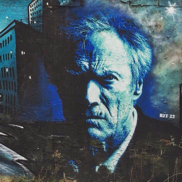 ... absolutely an endless genius. Happy birthday Clint. Art by BETH 22 #streetart #art #graffiti #mural #urbanart #Beauty #ClintEastwood #artist #HappyBirthdaypic.twitter.com/4fVT42Hirs