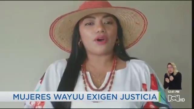 Mujeres wayuu alzaron su voz para rechazar el video de Fabio Zuleta. Aseguran que están orgullosas de pertenecer a su etnia y que no están a la venta. Piden todo el peso de la ley para este tipo de personas que promueven la violencia sexual noticiasrcn.com
