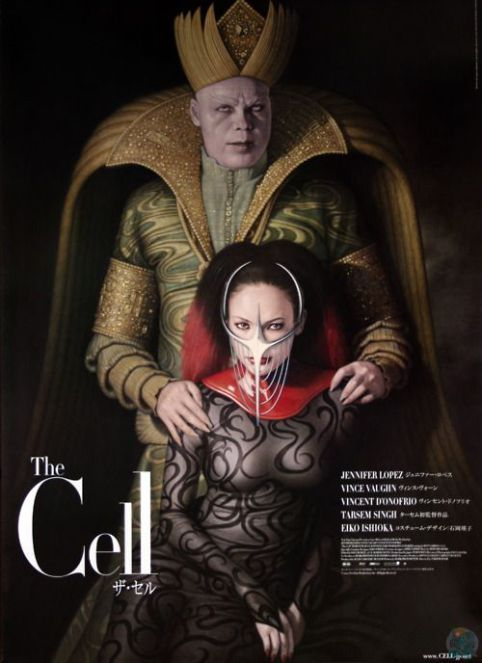 THE CELL (2000) by Tarsem Singh #horror #scifi @JLo @vincentdonofrio #posterpic.twitter.com/HqIPYjC7h5