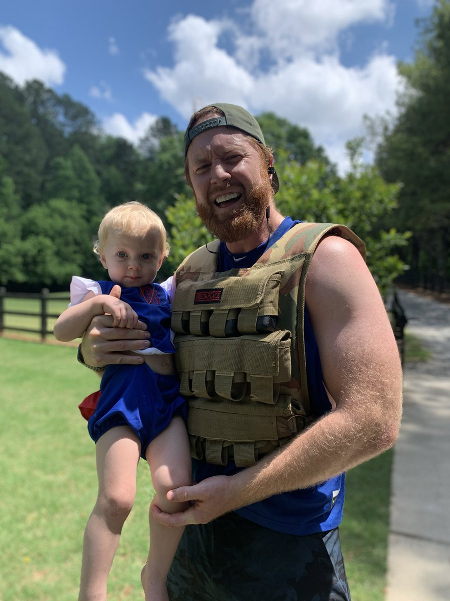 #Murphchallenge complete!! This little beauty cheering me on!! Thank you for those who gave all and to our men and women serving this great country! God bless America! #MemorialDay2020
