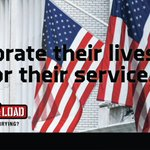 Image for the Tweet beginning: As the @CarryTheLoad May Memorial