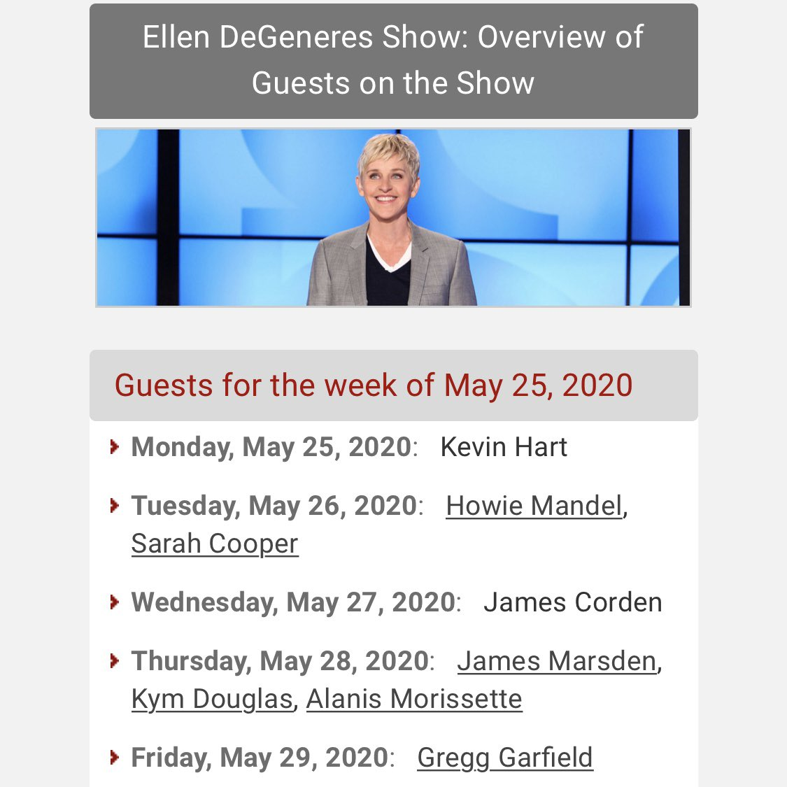 I will be on @theellenshow tomorrow!!!! Someone tell the president to set his TiVo