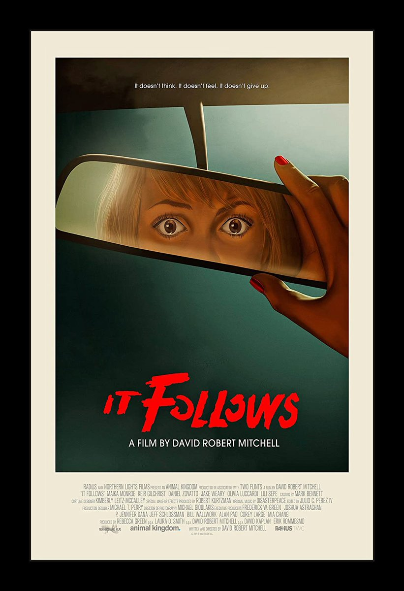 Now for @Disasterpeace and It Follows (2014) a modern classic in horror.