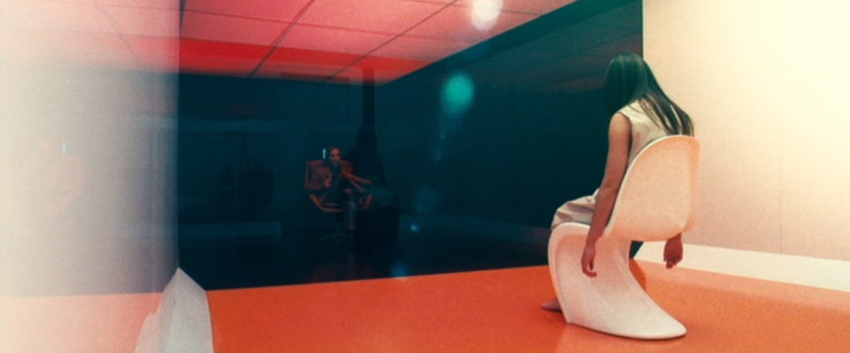 Back to Panos Cosmatos' world now (he made Mandy, remember?) with Beyond The Black Rainbow (2010).