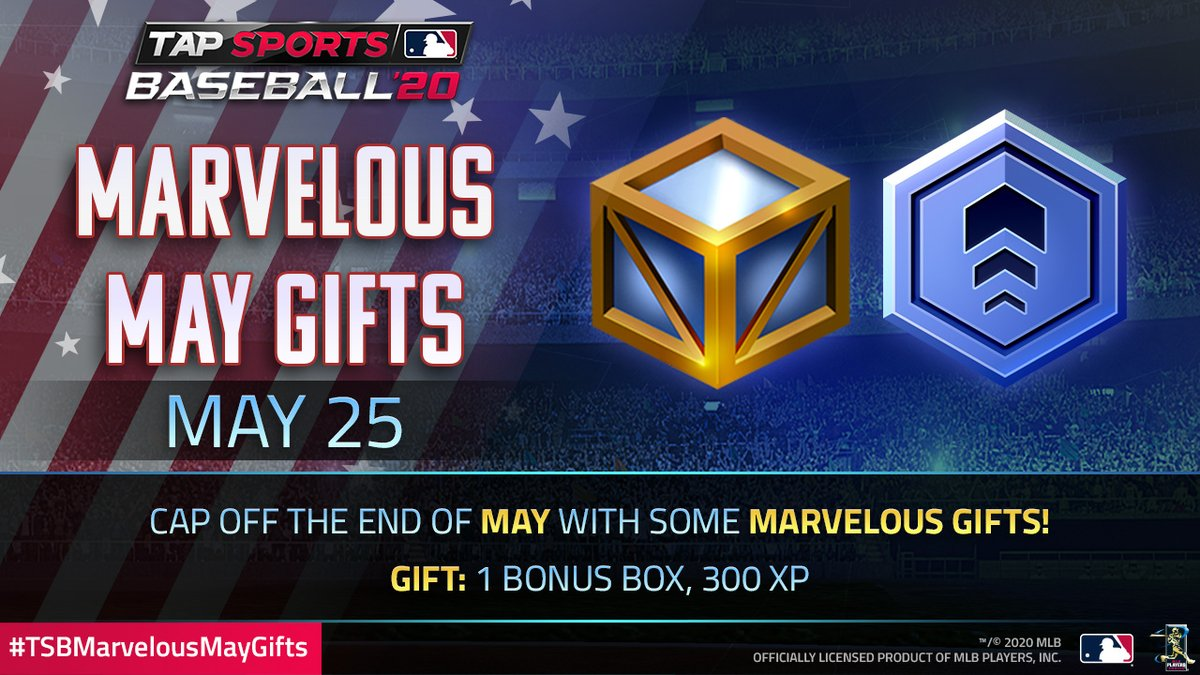 XP is on the menu in today's #TSBMarvelousMayGifts!