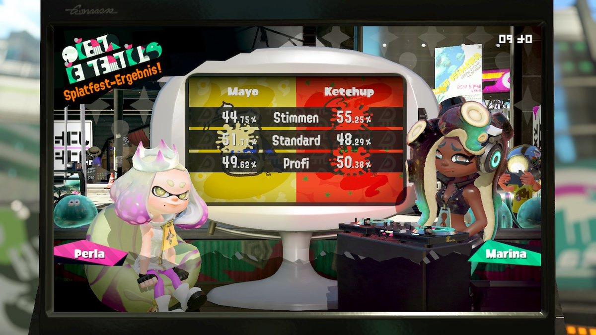 Sieg für #TeamKetchup 🔥💪🔥  #Splatfest2020 #Splatoon2 #NintendoSwitch #Splatfest #Splatoon