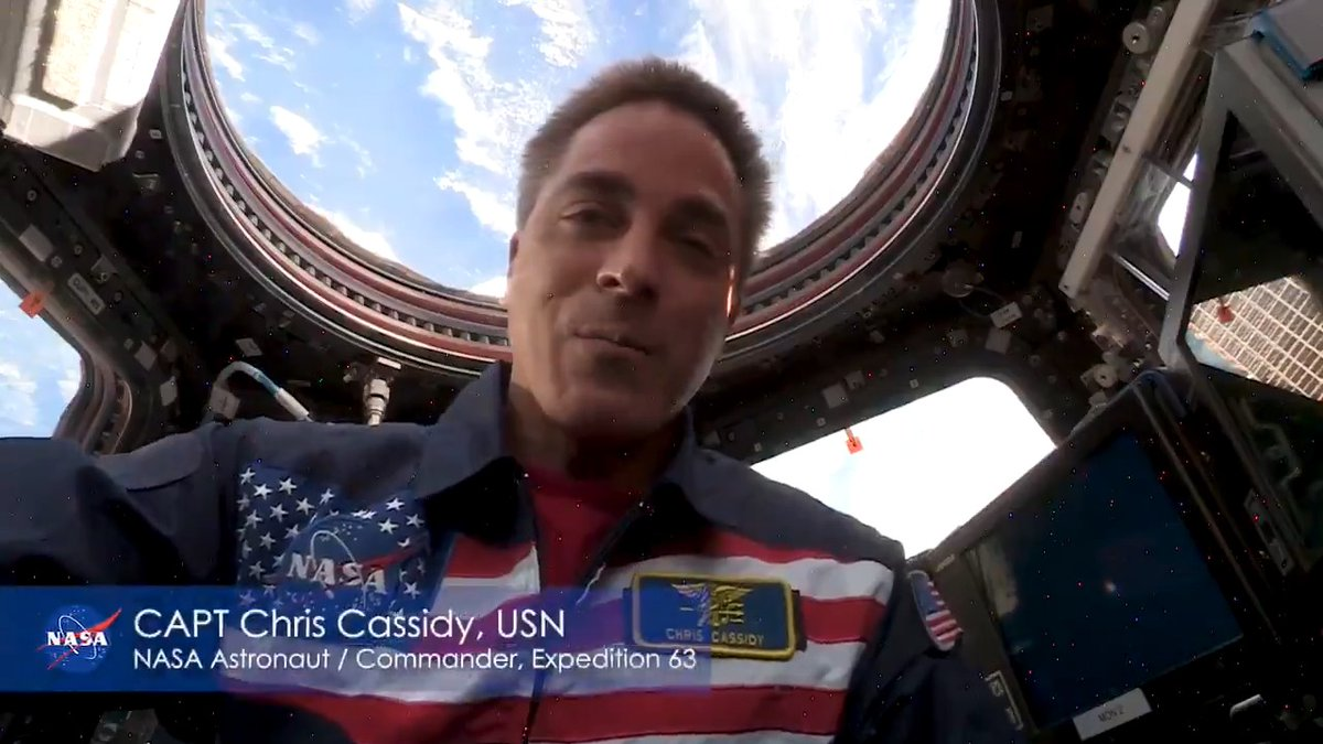 #MemorialDay🇺🇸 is a special day for us to give honor and pay tribute to all who have given their lives in service to our nation. Im incredibly grateful to them and their families for their sacrifice. Thank you. – @NASA Astronaut Chris Cassidy