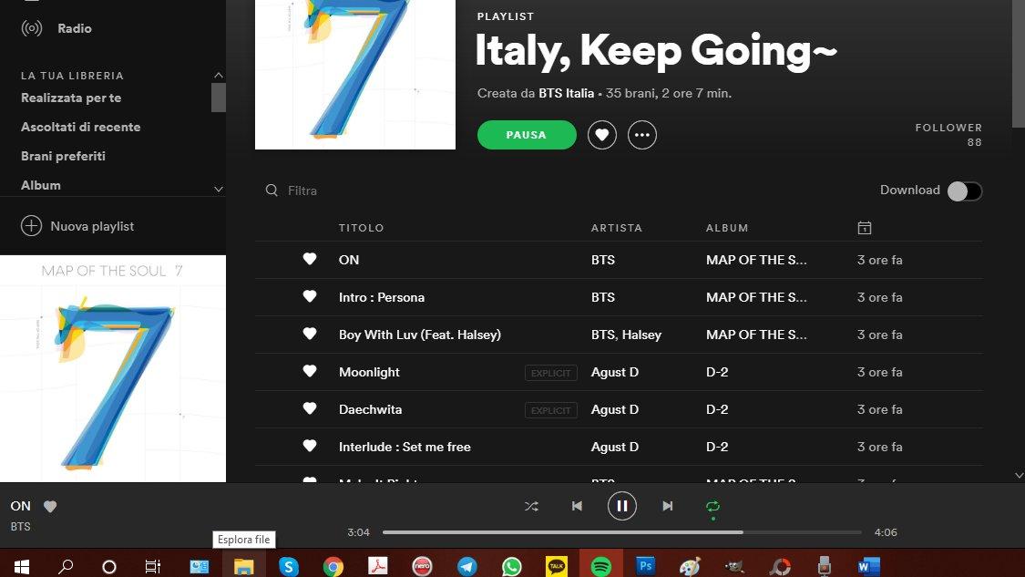 #ItalyKeepGoing