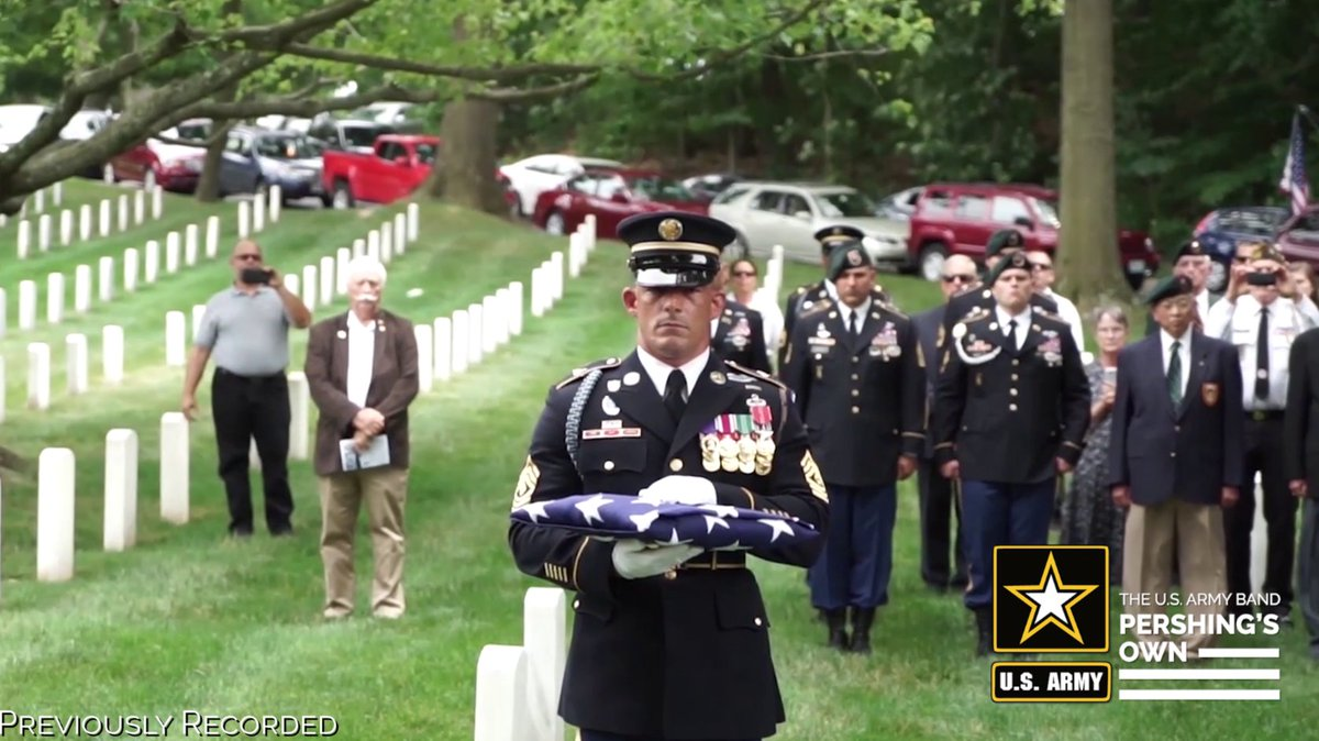 """In honor of Memorial Day, @theusarmybands Trumpet Ensemble performs Jari Villanueva's arrangement of """"Taps"""" to recognize those who humbly sacrificed their lives for this great nation. #HonorThem #MemorialDay Video by SSG Rachel Minto."""