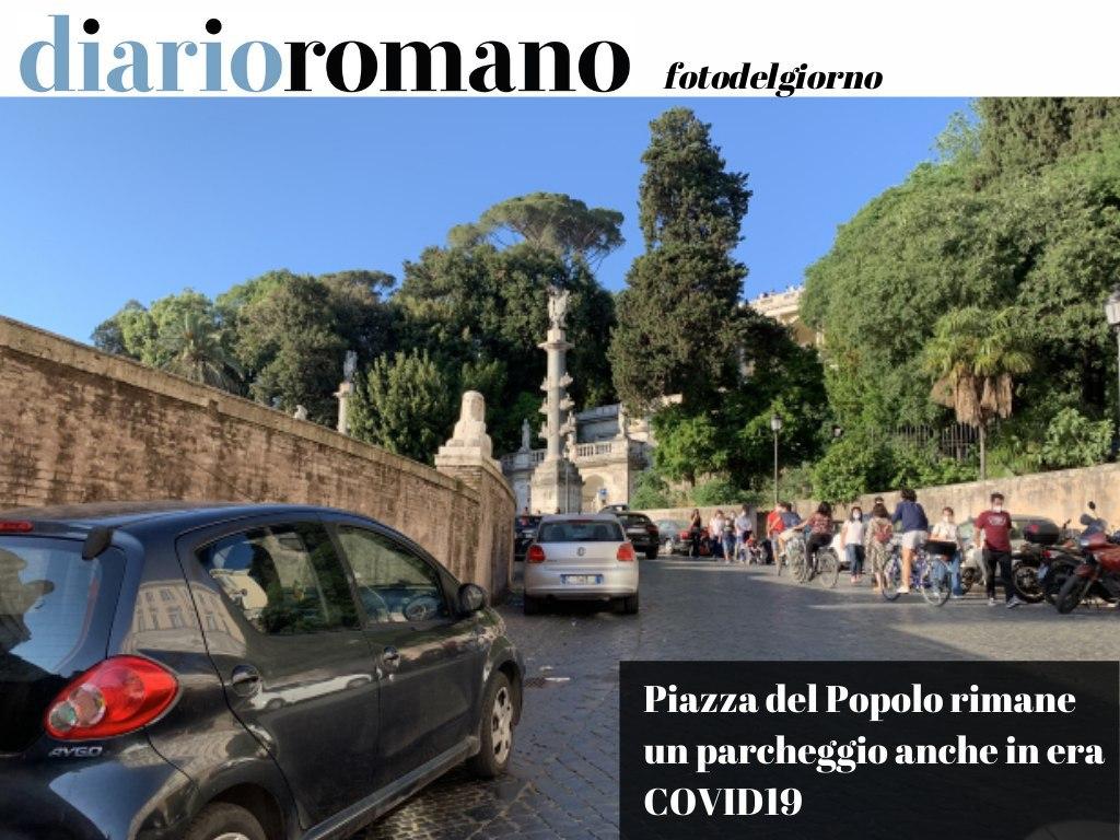 test Twitter Media - #Domenica di libertà in era #COVID19 e normalità tornata con tutte le auto in sosta selvaggia al seguito (qui piazza del Popolo). . #Roma #foto #lettori 📸 https://t.co/94JnXOwEku