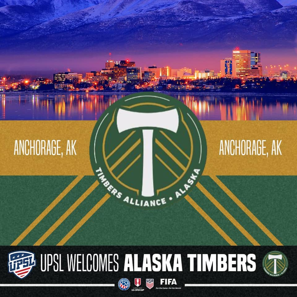 Pretty late to the game on this one (sorry, COVID has made my life infinitely busier lately), but better late than never!  UPSL's Last Frontier Conference has a new team!  Welcome to Anchorage: Alaska Timbers!  #UPSL #UPSLAK #AlaskaTimbers #RCTID https://t.co/geyagpG8pk